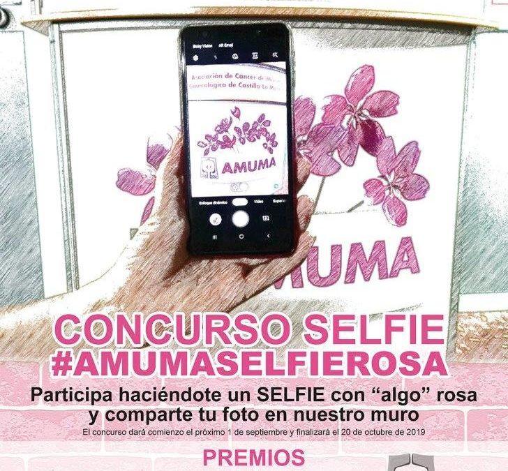 Concurso Selfie #amumaselfierosa